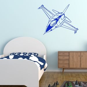 Fighter Jet Plane Wall Sticker - shop by price