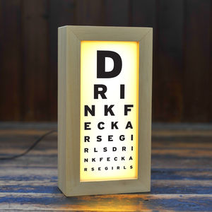Father Ted Eye Chart Lightbox - whatsnew