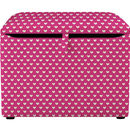 Child's Fabric Covered Toy Box