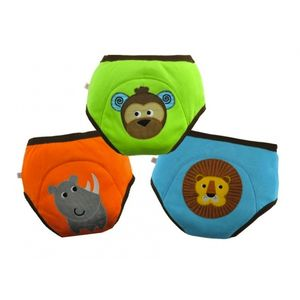Boys Animal Trainer Pants Three Pack