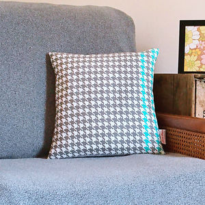 Dogtooth Cushion - cushions