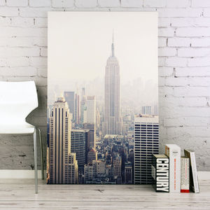 View Of New York Canvas - shop by subject