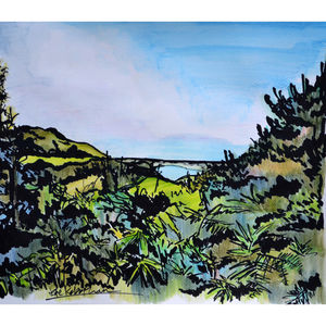 Dorset View - canvas prints & art