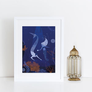 Mermaids Print - posters & prints