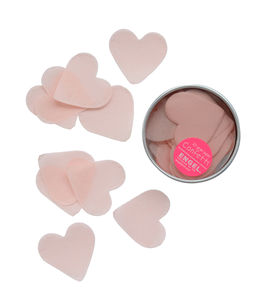 Paper Confetti Heart Pink - whats new