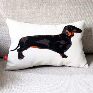 Dachshund Cushion