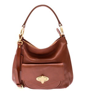 Georgia Tan Leather Handbag