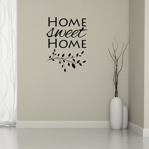Home Sweet Home Branch Wall Sticker