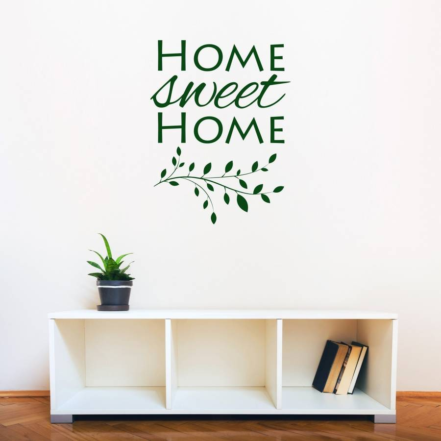 Home Sweet Home Branch Wall Sticker Part 61