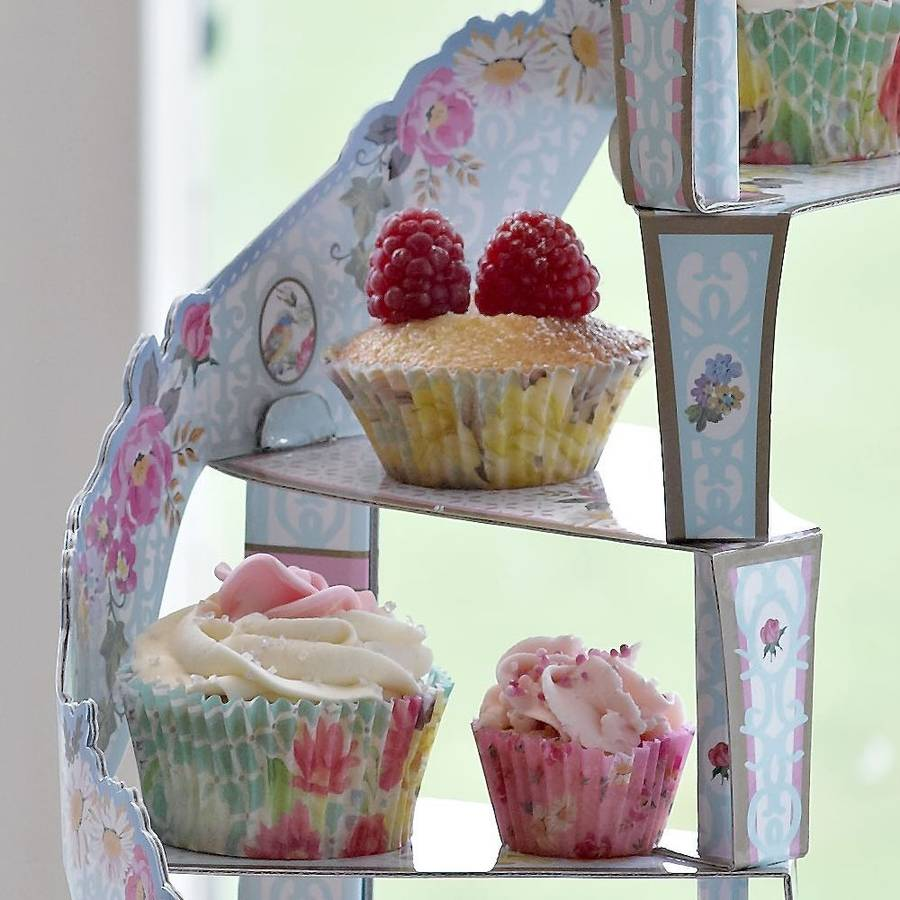 Spiral Cupcake Stand By Bunting Amp Barrow