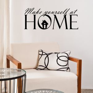 Make Yourself At Home Wall Sticker