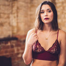 Emily Ruby Bra And Brief Set