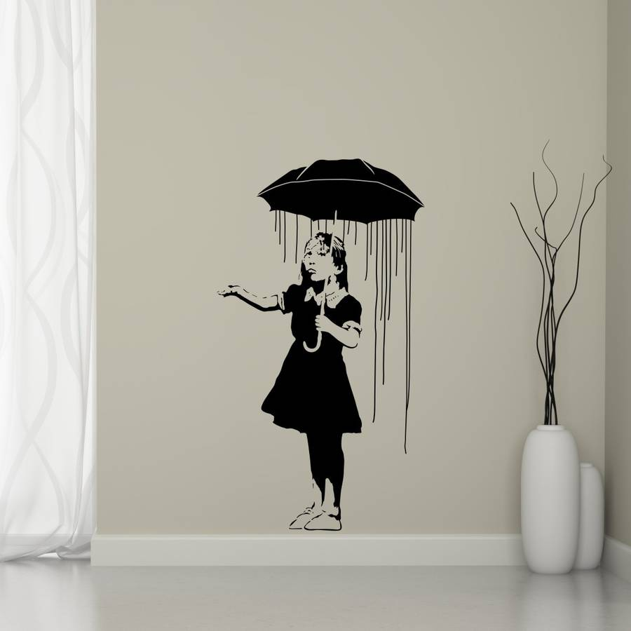 Long Way Home Banksy Wall Sticker