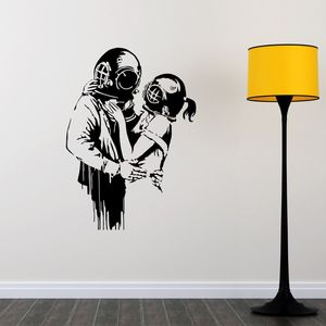 Love Deep Banksy Wall Sticker