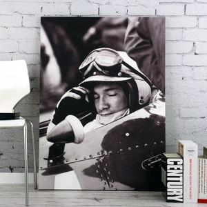 Pedro Rodriguez Retro Motorsport Canvas - canvas prints & art