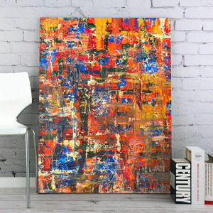 Abstract Oil On Canvas - canvas prints & art