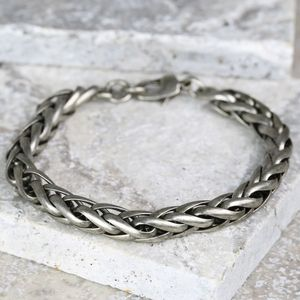 Men's Chunky Chain Bracelet - jewellery sale