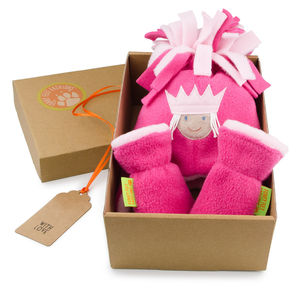 Princess Hat And Mittens Gift Set For Baby And Child - children's hats