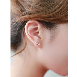 Shooting Star Stud Earrings - earrings