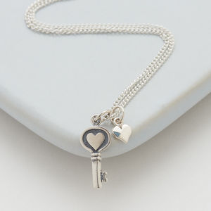 Key To My Heart Necklace - necklaces & pendants