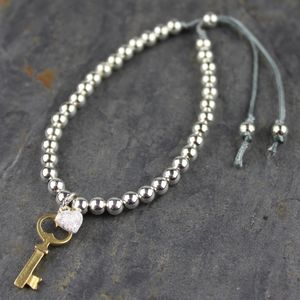 Key To My Heart Friendship Bracelet - jewellery gifts for friends