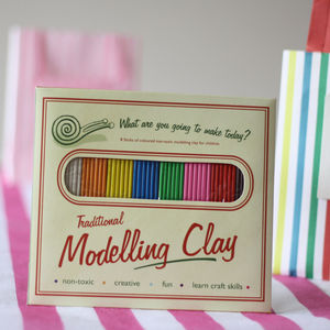 Modelling Clay For Children Stocking Filler - wedding day activities