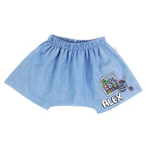Personalised London Stamp Baby Shorts - clothing