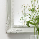 Mizzle by Farrow and Ball over white