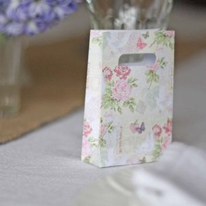 Floral Wedding Favour Bags – Pack Of 10