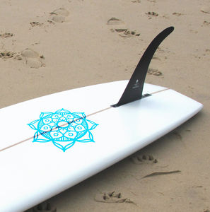 Pattern Surfboard Vinyl Sticker - sports & games for grown ups
