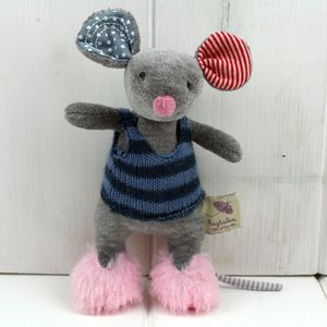 Cuddly Newborn Baby Toy Mouse