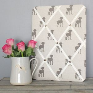 Elephant Bark Dog Notice Board