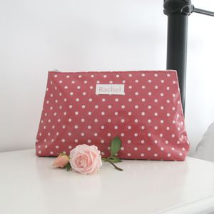 Extra Large Personalised Cosmetic Bag - beauty gifts