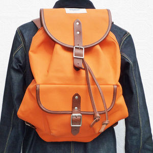 Heavy Duty Canvas Backpack - gifts for teenage boys