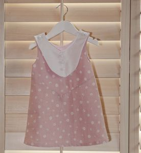 Pink Pancakes Bib Dress - for children