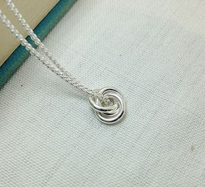 Eternity Solid Silver Pendant