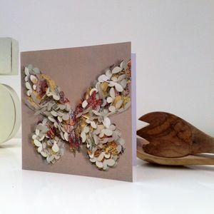 World Of Butterflies Blank Card - birthday cards
