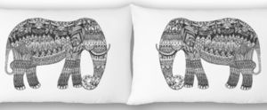Sleep Artfully Pillow Cases Set Of Two