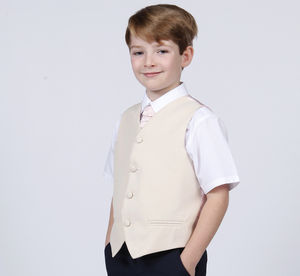 Page Boy Waistcoat - wedding and party outfits