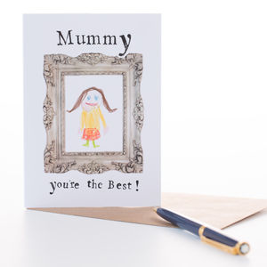 'Mummy You're The Best' Card - thank you cards