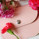 With Love From… Personalised Leather Coin Purse