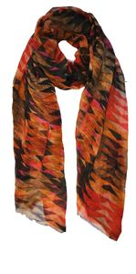 Tribal Cashmere Scarf
