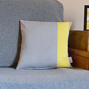 Herringbone Cushion - patterned cushions