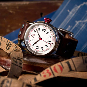 Men's Watches: 'No. 1905' Built In Britain - gifts for grandparents