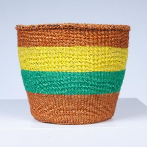 Undongo Sisal Storage Basket - as seen in the press