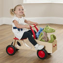 Wooden Toddler Wagon Ride On