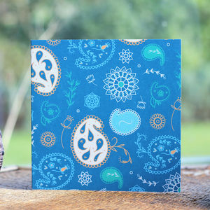 Paisley Blank Card