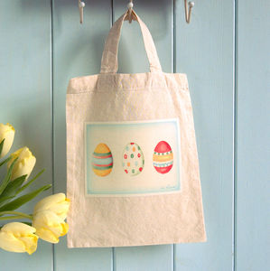 Easter Egg Gift Bag - easter egg hunt