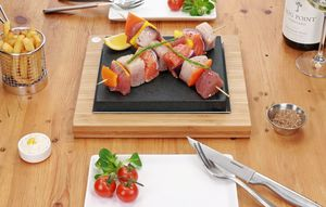The Steak Stones Sizzling Steak Plate - view all gifts for him