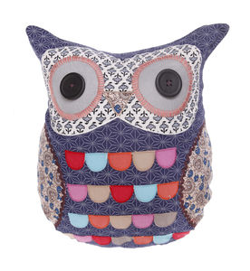 Little Blue Owl Cushion